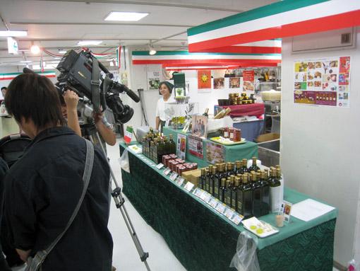 鹿児島放送の撮影風景
