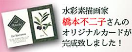 橋本不二子さんのLa Speranzaオリジナルカード完成!